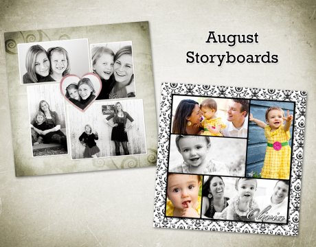 free storyboard template for photoshop from Sarah Gourdie Designs
